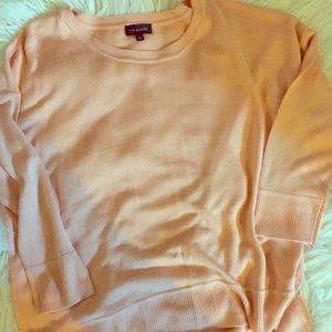 Peach coral lightweight the limited sweater
